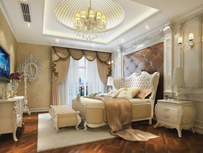 inneneinrichtung ideen schlafzimmer arabischer stil schöne zimmerdecke