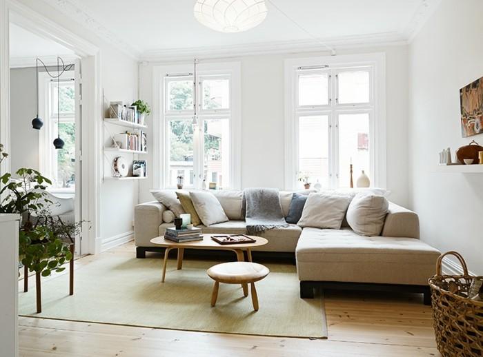 skandinavisch einrichten 60 inneneinrichtung ideen f r skandinavisches innendesign. Black Bedroom Furniture Sets. Home Design Ideas