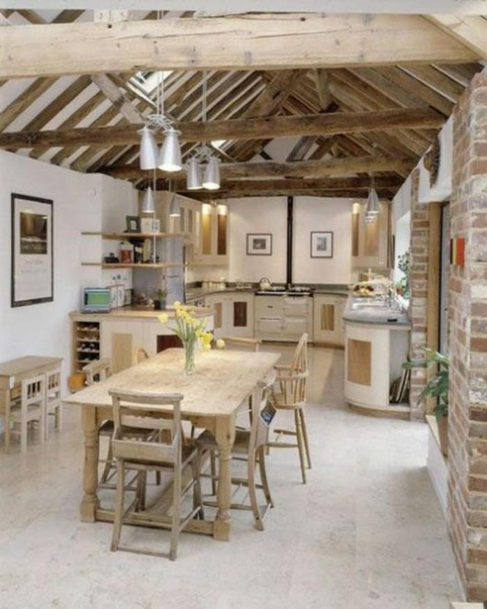 Kücheneinrichtung Dachschräge Deko Ideen Küche42 Die Problematische  Dachgeschosswohnung Und Die Perfekte Kücheneinrichtung Dafür  49 Ideen |  Küche ...