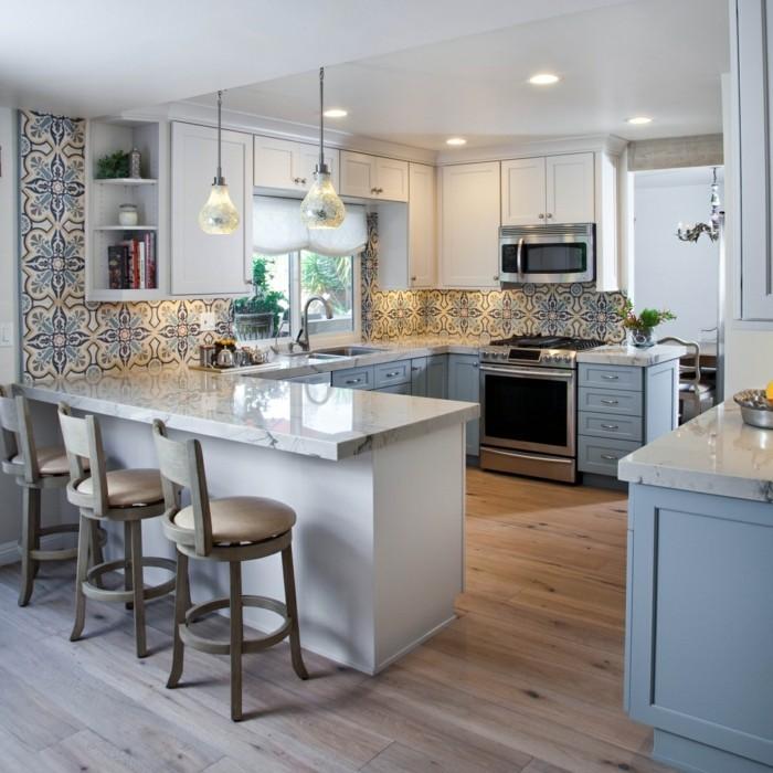 küchengestaltung frisches muster fürdie wandgestaltung