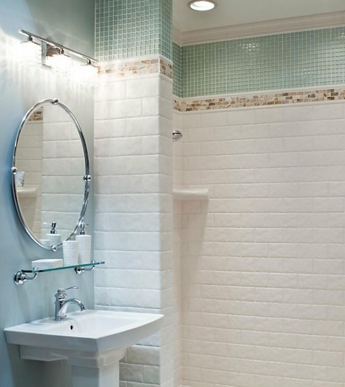 keramikfliesen wanddesign badezimmer einrichten