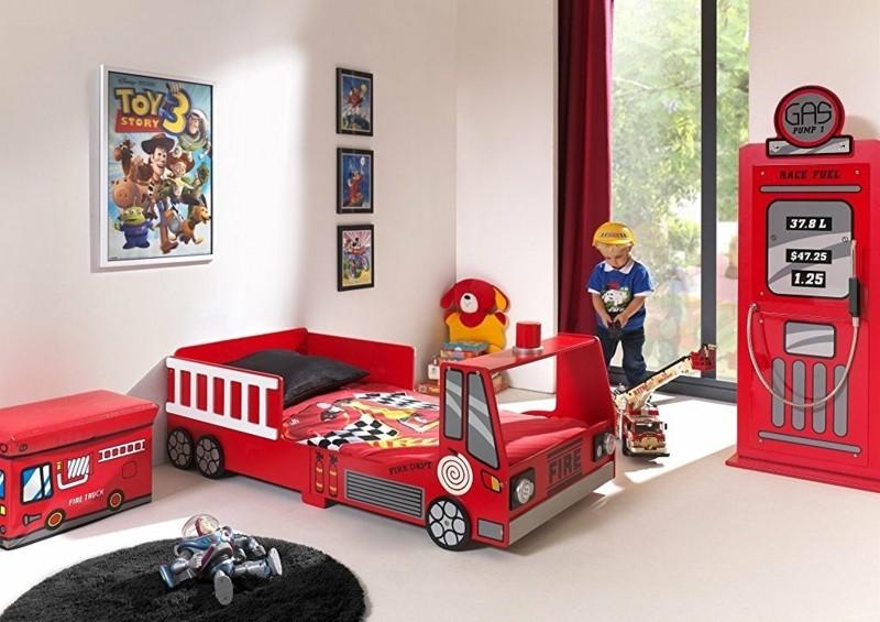 kinderbetten feuerwehrbetten lassen die kleinen jungen. Black Bedroom Furniture Sets. Home Design Ideas