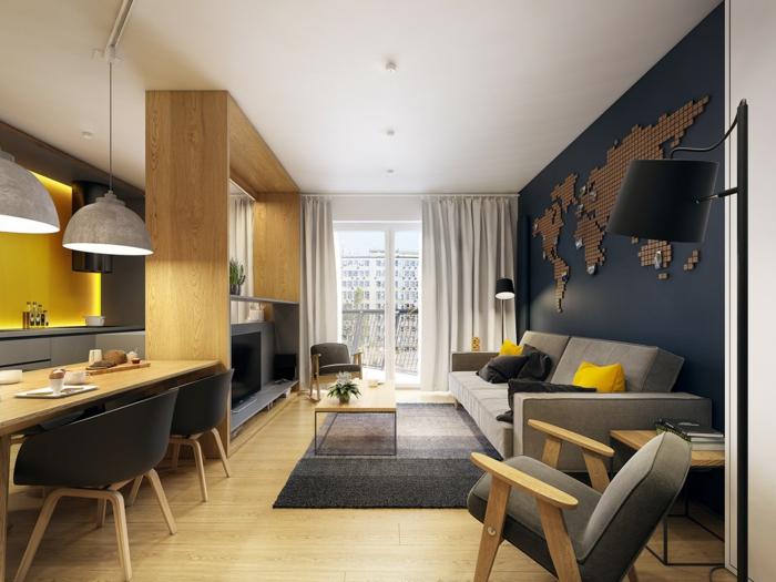 kleine wohnung einrichten es kann gro getr umt werden. Black Bedroom Furniture Sets. Home Design Ideas