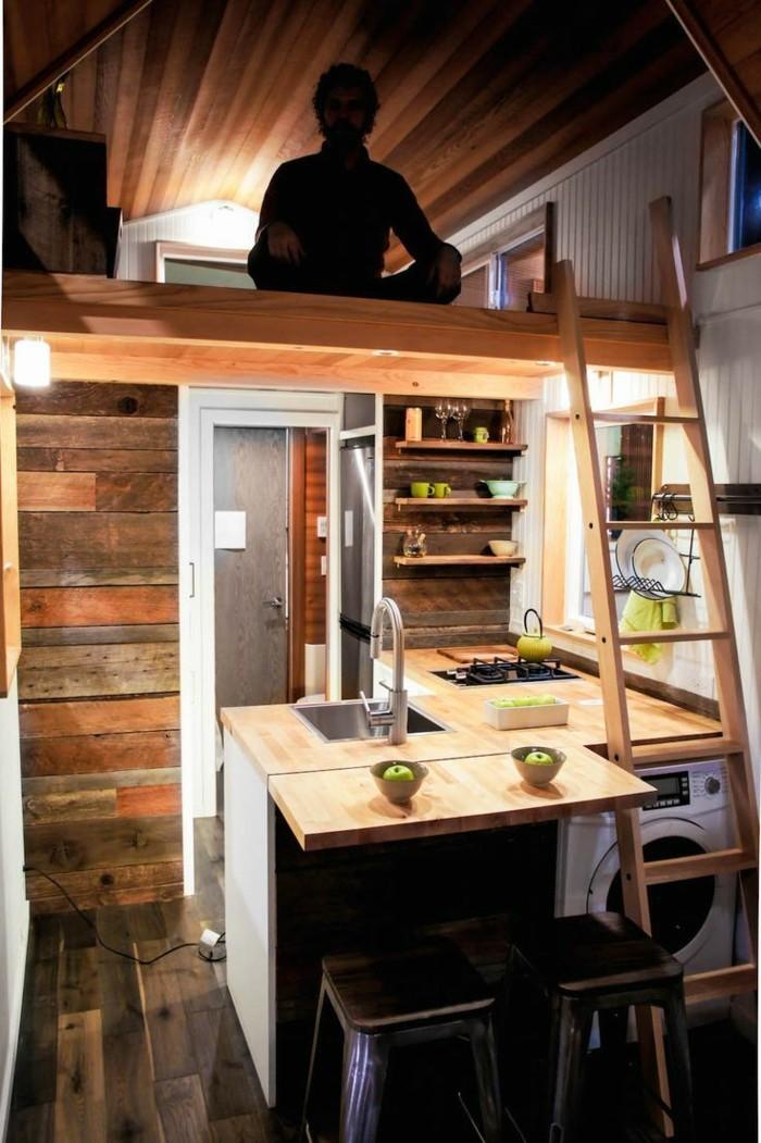 Kleine wohnung einrichten es kann gro getr umt werden for Wohnung minimalistisch einrichten