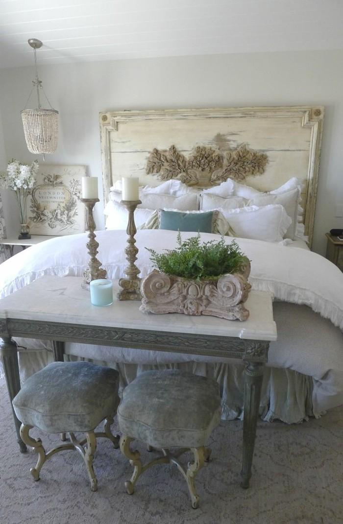 einrichtungsideen wohnideen schlafzimmer weiße bettwäsche