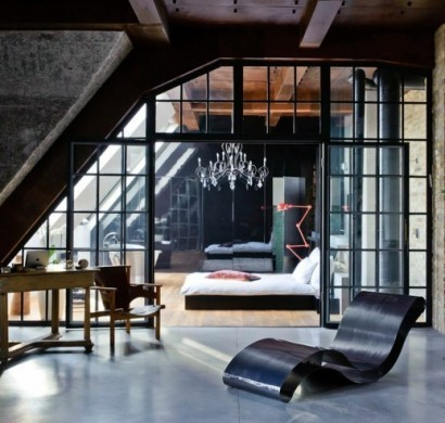 eklektische wohnung loft charakter m belideen. Black Bedroom Furniture Sets. Home Design Ideas