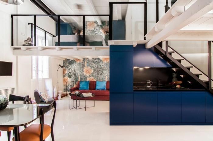 schlafzimmer und wohnzimmer in einem raum verschnerung wohnideen, Hause deko