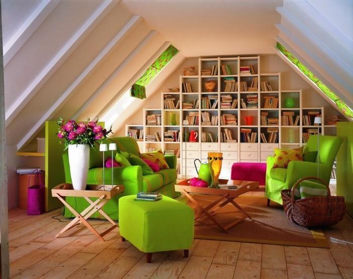 Loft Wohnung Einrichtungsbeispiele Wohnideen Deko Ideen Offener Raum4
