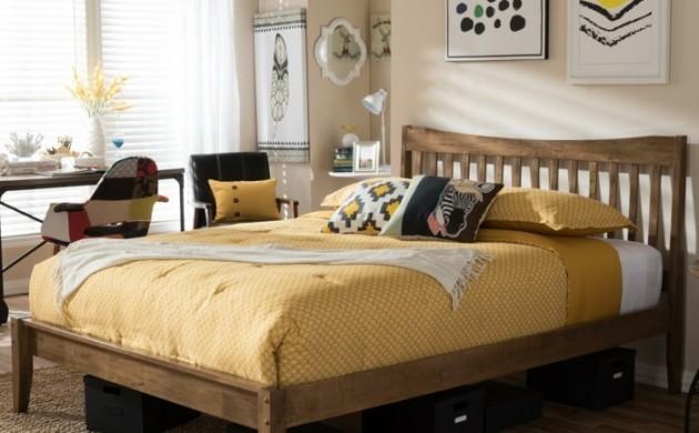 massivholzbett-betten-schlafzimmer-einrichten-teppich