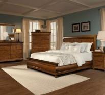 Massivholzbett bringt das Schlafzimmerdesign auf ein höheres Niveau