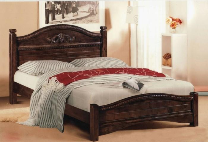 massivholzbett schlafzimmerdesign einrichtung gemütlich