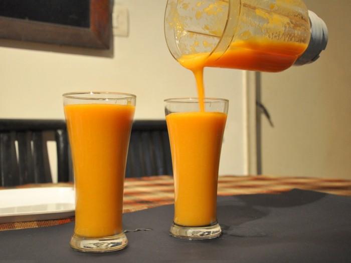 papaya lebe gesund fruhstucksideen gesund abnehemn gesundes obst saft