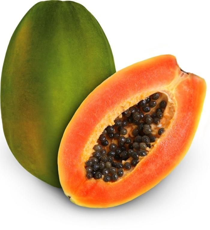 papaya lebe gesund fruhstucksideen gesund abnehemn gesundes obst4