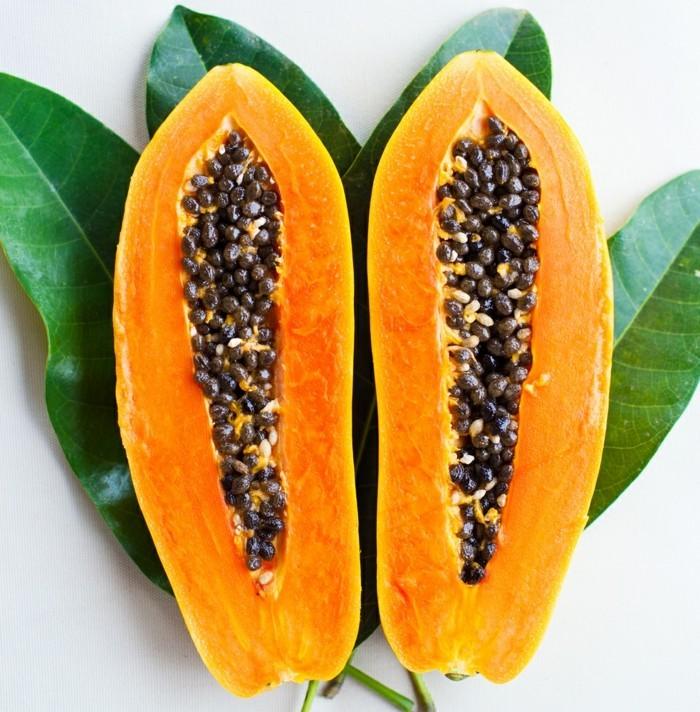 papaya lebe gesund fruhstucksideen gesund abnehemn gesundes obst8
