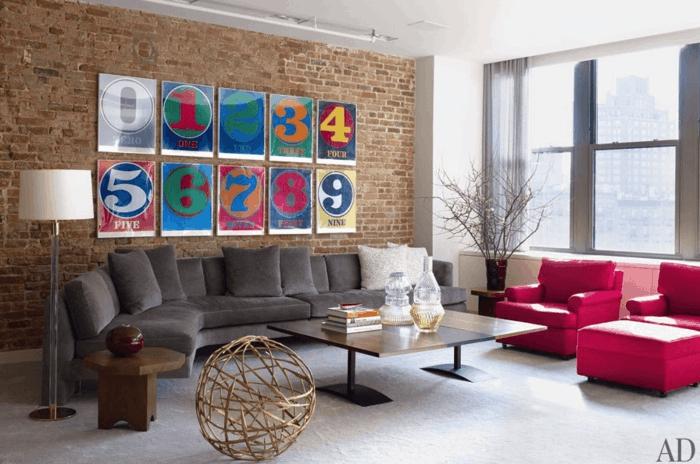 Pop Art Merkmale Einrichtungsbeispiele Wohnideen Deko Ideen Wohnzimmer Farben