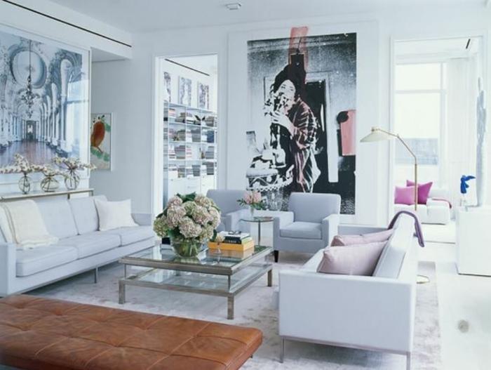 pop art merkmale einrichtungsbeispiele wohnideen deko ideen wohnzimmer klassik