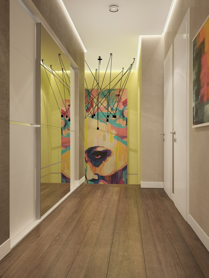 pop art merkmale einrichtungsbeispiele wohnideen deko ideen wohnzimmer wandgestaltung akzentwand