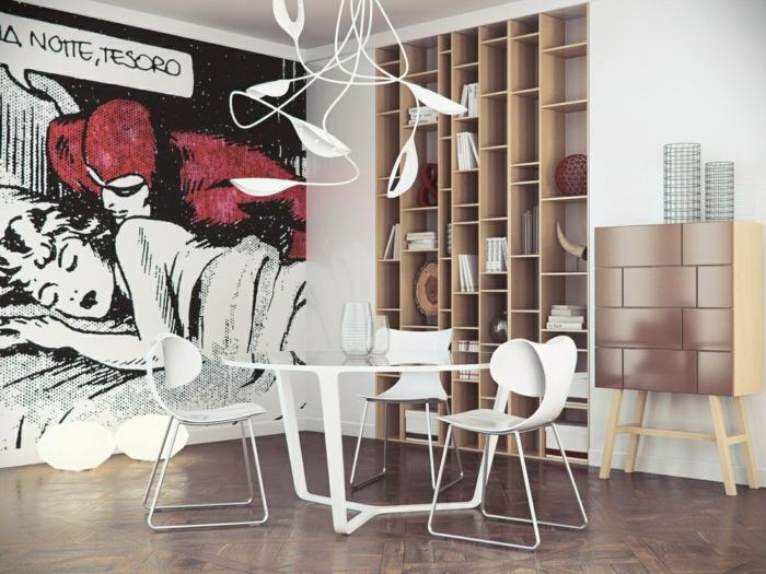 Pop Art Merkmale Einrichtungsbeispiele Wohnideen Deko Ideen Wohnzimmer