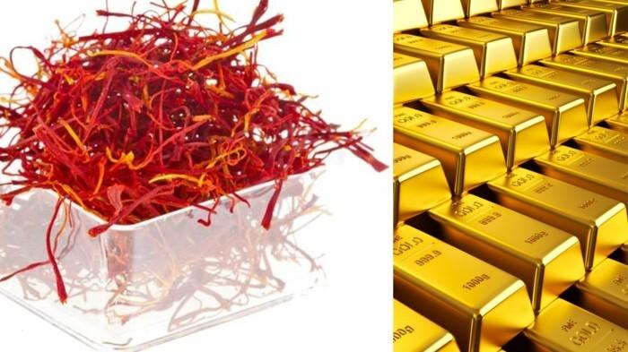 safran gewürz heilkräuter lebe gesund safran blüte verarbeitung fädengold