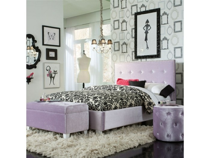 gardinen schlafzimmer gestalten. Black Bedroom Furniture Sets. Home Design Ideas