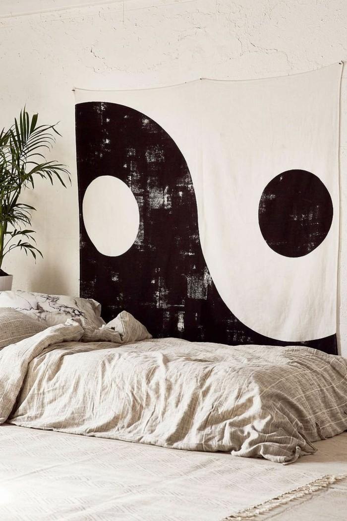 schlafzimmer gestalten einrichtungsbeispiele wohnideen deko ideen ing yang