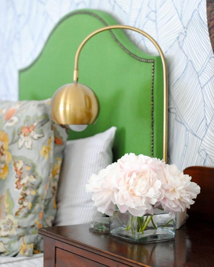 schlafzimmer gestalten einrichtungsbeispiele wohnideen deko ideen kopfteil