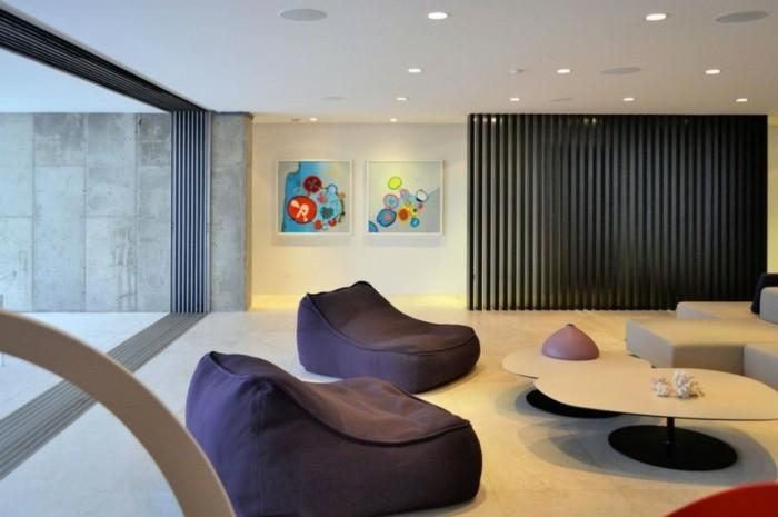 einrichtungsideen mit sitzsack sitzgelegenheit – bigschool, Wohnzimmer
