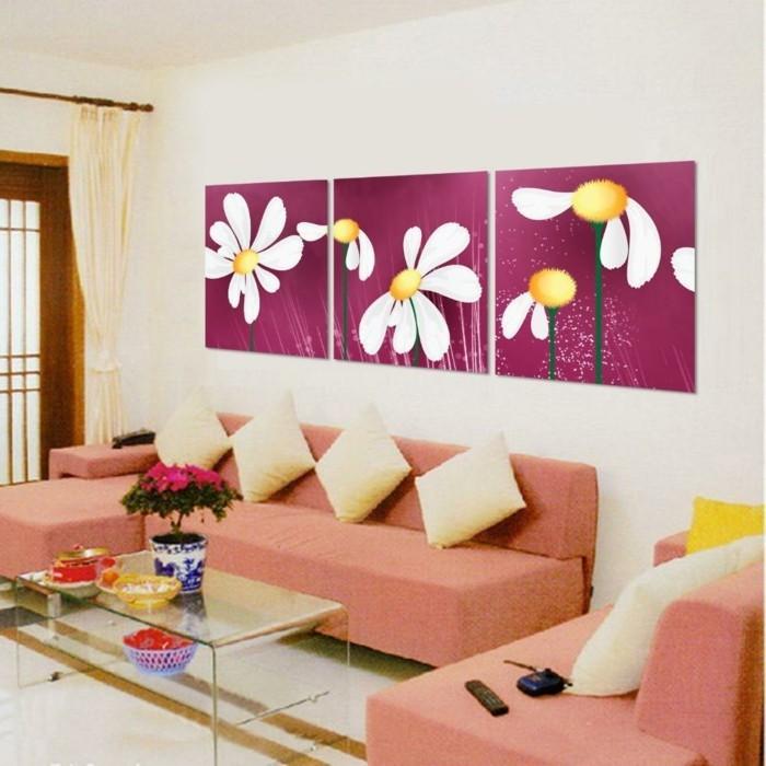 Wandbilder als eine schöne alternative zum wanddesign