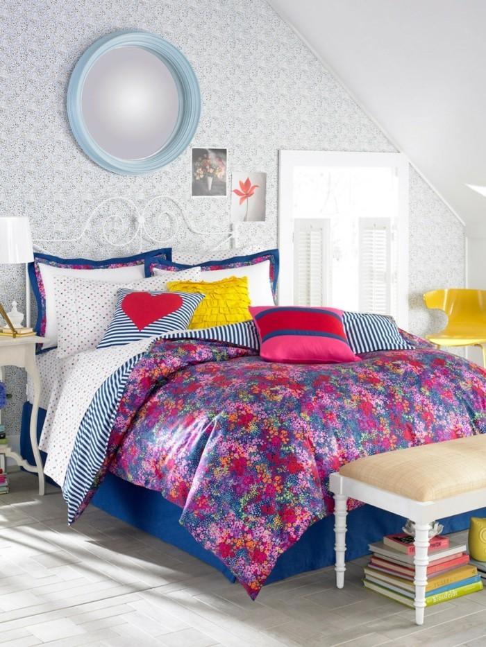Farbliche Wandgestaltung Beispiele: 70 Ideen Für Wandgestaltung