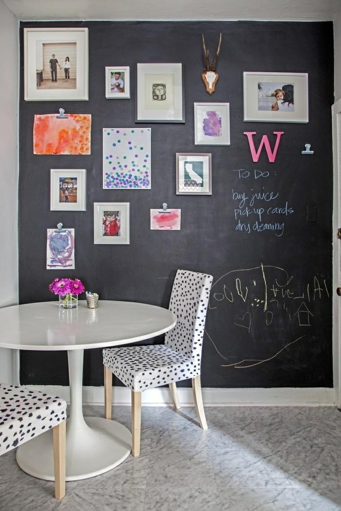 70 ideen f r wandgestaltung beispiele wie sie den raum. Black Bedroom Furniture Sets. Home Design Ideas