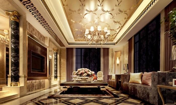 wohneinrichtung ideen in den griechischen und den r mischen antiken stil. Black Bedroom Furniture Sets. Home Design Ideas