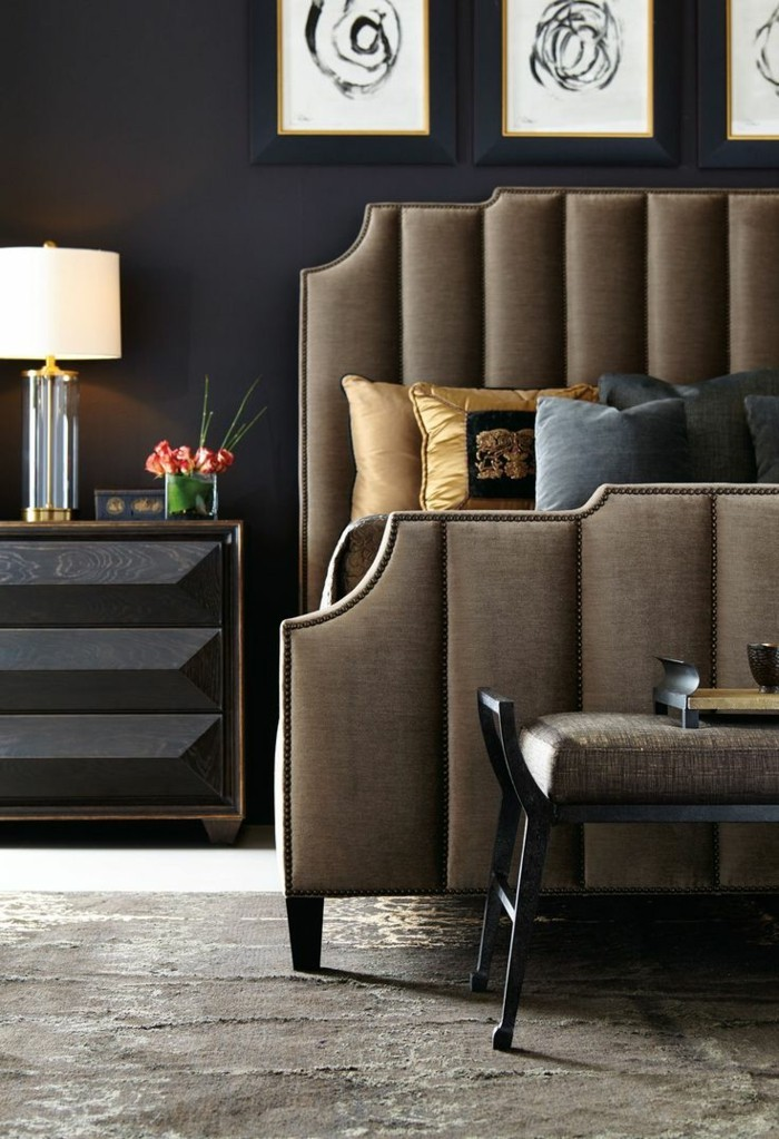 innendesign ideen im art deco stil lassen den raum edler. Black Bedroom Furniture Sets. Home Design Ideas