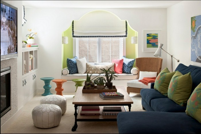 wohnung einrichten ideen contemporary style wohnzimmer