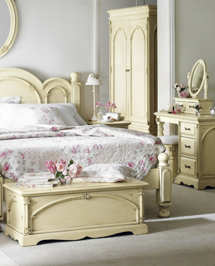 einrichtungsideen vintage provence und shabby chic im vergleich. Black Bedroom Furniture Sets. Home Design Ideas