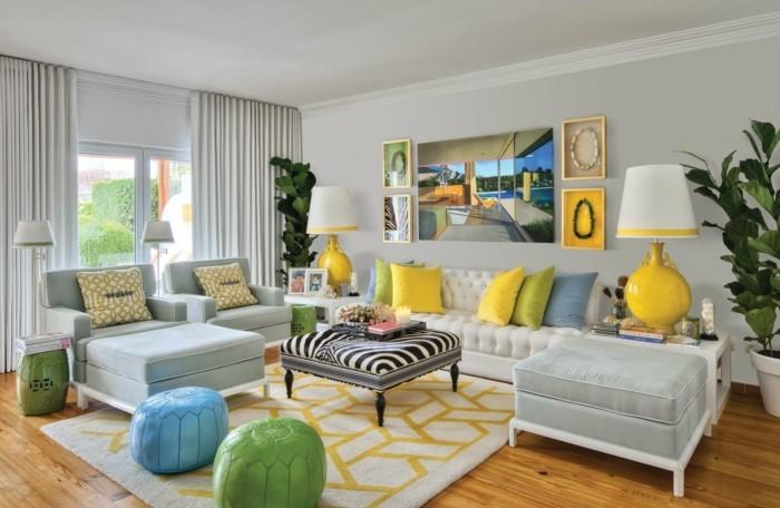 Wohnzimmer einrichten ideen f r einen raum mit eigener for Wohnungseinrichtung farben