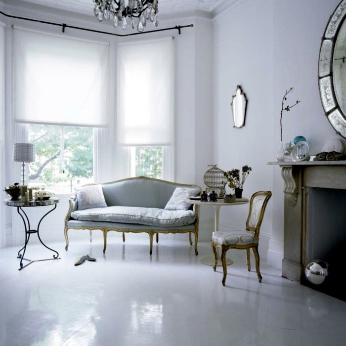 Zimmer einrichten Ideen im Stil Rokoko, welche dem Raum ein edles ...
