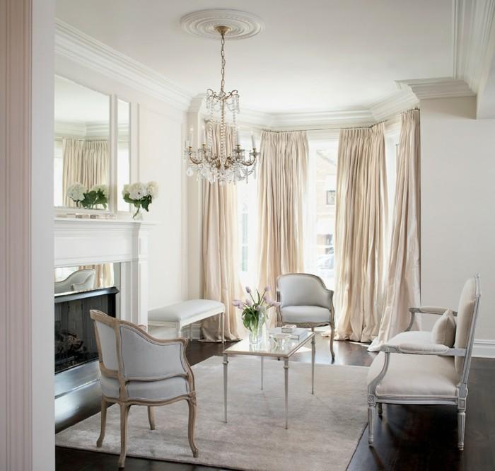 zimmer einrichten ideen rokoko stil wohnzimmer