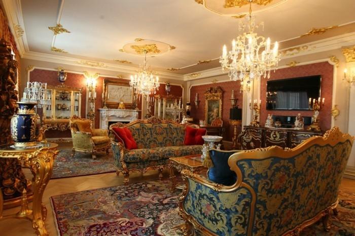 zimmer einrichten ideen im stil rokoko welche dem raum. Black Bedroom Furniture Sets. Home Design Ideas