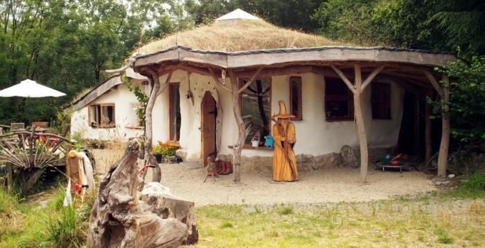 okohaus akohaus lehmhaus hobbit haus nachhaltiges bauen rostock ev