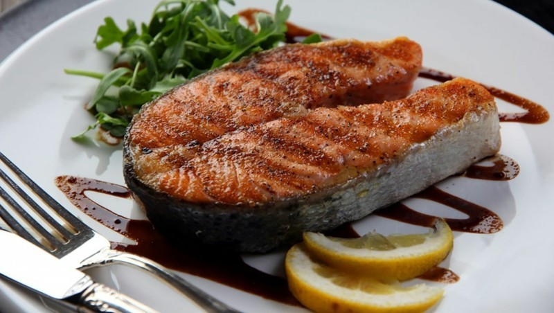 fisch diat lachs filet gesunde ernahrung