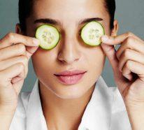 Natürliche Heilmittel gegen geschwollene Augen