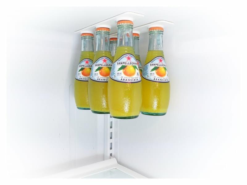 haushalt tipps kuhlschrank mehr stauraum flaschen
