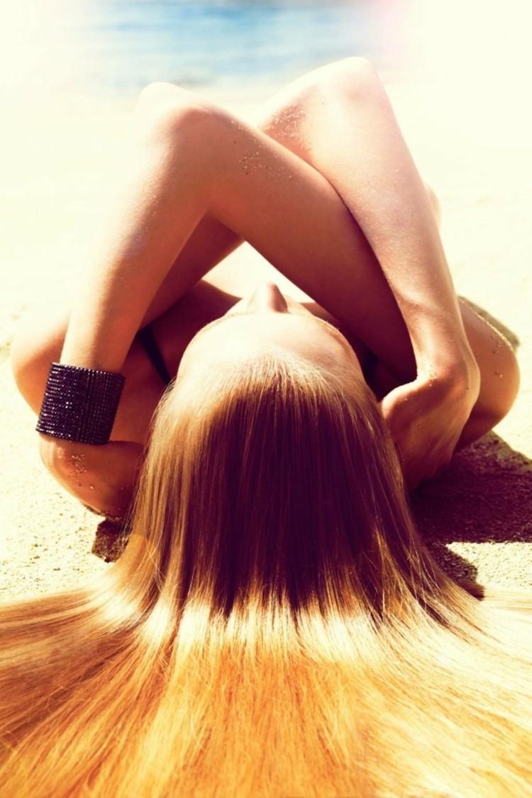 kokosöl haare glänzende haare beste haarpflege