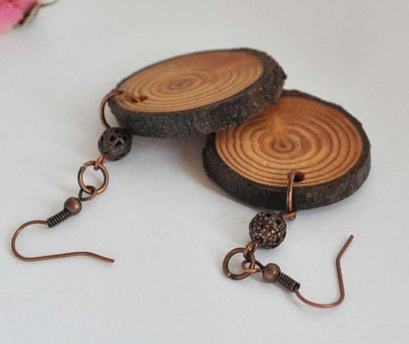 laerchenholz vorteile originelle ohrringe