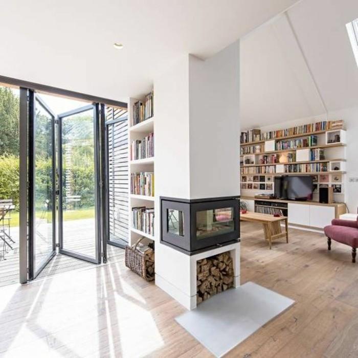 70 Moderne Innovative Luxus Interieur Ideen Fürs Wohnzimmer: Kamin Design: Tipps Und Ideen Für Mehr Staufläche