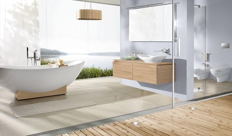 GroBartig Badezimmergestaltung Moderne Badgestaltung Ideen Bodengleiche Dusche