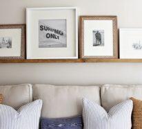 Bilderleisten sind eine große Hilfe bei der Wohnungsdekoration – 30 Dekoideen für Ihre Wohnung