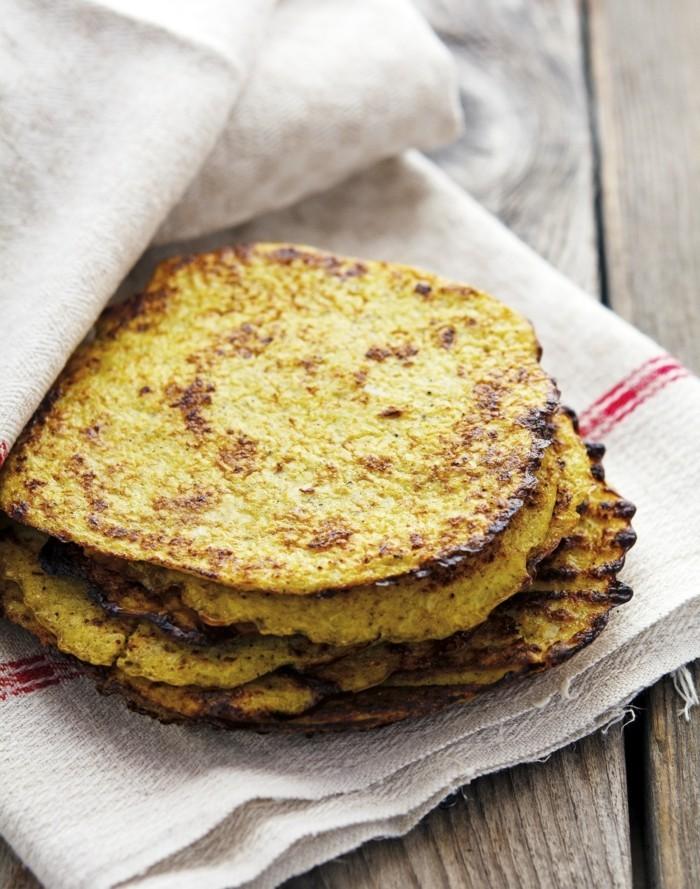 blumenkohl gesund rezeptideen tortilla