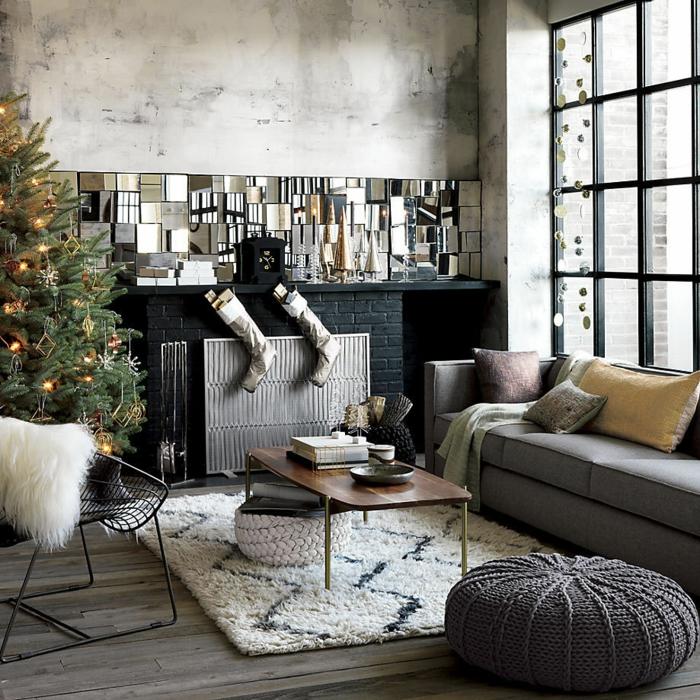 deko zu weihnachten wohnzimmer dekorieren weihnachtsbaum