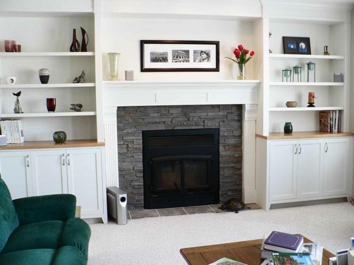 30 kamin deko tipps f r mehr komfort und gem tlichkeit. Black Bedroom Furniture Sets. Home Design Ideas